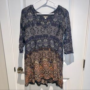 Ecote boho swing dress from Urban Outfitters